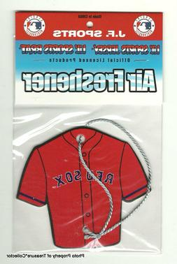 10 MLB Boston Red Sox Air Freshener Jerseys in package 2018