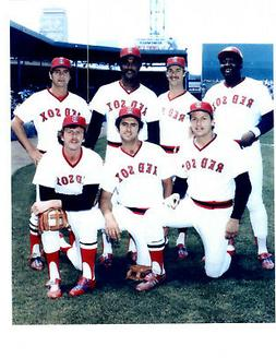 1980 BOSTON RED SOX 8X10 TEAM PHOTO  BASEBALL  FISK RICE YAS