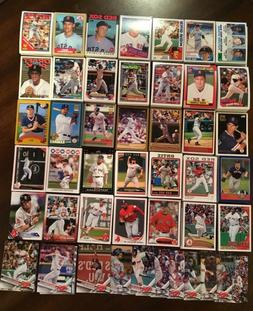 1982-2017 BOSTON RED SOX Topps Complete Team Sets  CLEMENS-O