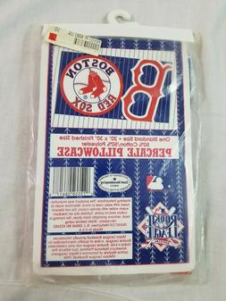 1994 BOSTON RED SOX SF MLB Vintage Percale Pillowcase USA 50