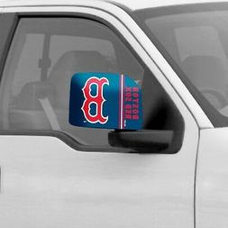 1pair Boston Red Sox car Auto Side Vew Mirror Covers MLB Off