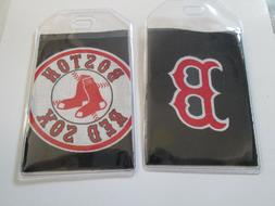 2 Boston Red Sox Tags for Luggage, Athletic Gear, Golf Bags,