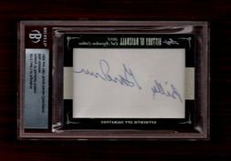 2012 Leaf History of Baseball Cut Signatures #76 Billy Gardn