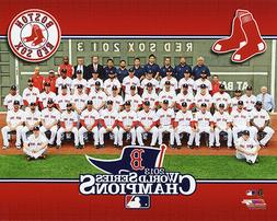 2013 BOSTON RED SOX WORLD SERIES CHAMPIONS LICENSED 8X10 TEA