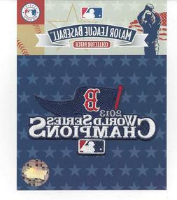 2013 Boston Red Sox World Series Champions Sleeve Patch 100%
