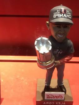 2019 Alex Cora Bobblehead Boston Red Sox SGA Fenway Park Wor
