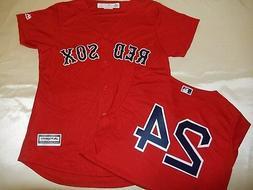 9601 Womens MAJESTIC Boston Red Sox DAVID PRICE Cool Base Ba
