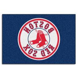 FANMATS MLB Boston Red Sox Nylon Face Starter Rug