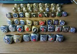 ALL Championship rings MLB  130+ rings.
