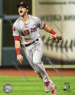 Andrew Benintendi Action 2018 Boston Red Sox Authentic Licen