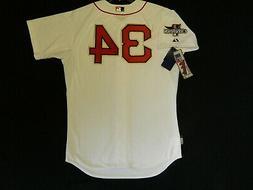 Authentic David Ortiz Boston Red Sox 2014 Ring Ceremony GOLD