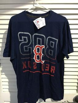 Baseball Ring Spun Soft Men's S Small Boston Red Sox T-Shirt