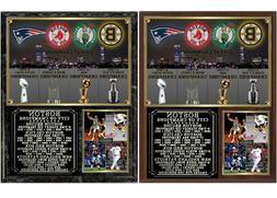 Boston City of Champions Patriots Red Sox Celtics Bruins Pho