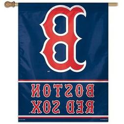 BOSTON RED SOX ~  Official MLB 28x40 Outdoor House Flag Bann