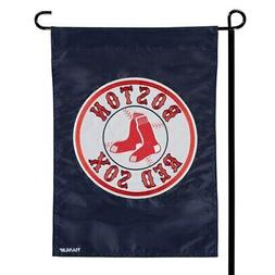 """Boston Red Sox 12.5"""" x 19"""" Applique Double-Sided Garden Flag"""