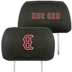 Boston Red Sox 2-Pack Auto Car Truck Embroidered Headrest Co