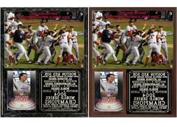 Boston Red Sox 2004 World Series Champions Photo Plaque