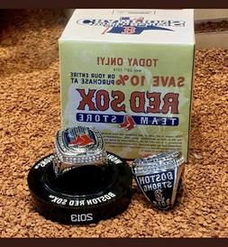 Boston Red Sox 2013 World Series Ring Replica SGA Fenway 05/