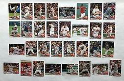 Boston Red Sox 2018 Topps Series 1, 2, & Update Base Team Se