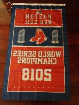 Boston Red Sox 2018 World Series 3x5 Banner. US Seller. Free