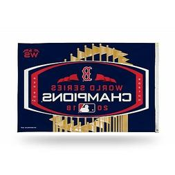 Boston Red Sox 2018 World Series Champions 3x5 Indoor/Outdoo