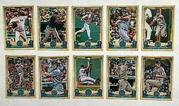 Boston Red Sox 2019 Topps Gypsy Queen Base Team Set *10 card