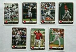 Boston Red Sox 2020 Topps Big League Base Team Set *7 cards*