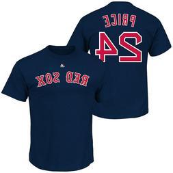 Boston Red Sox #24 David Price Player T-shirt Big & Tall XLT
