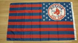 boston red sox 3x5 american flag us