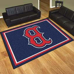 Boston Red Sox 8' X 10' Decorative Ultra Plush Carpet Area R