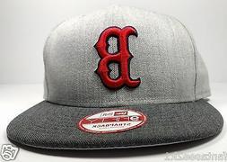 Boston Red Sox New Era 9Fifty Heather Action Gray Snapback H