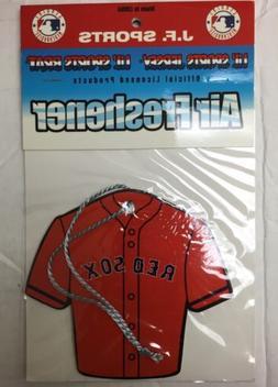 Boston Red Sox Air Freshener Jersey