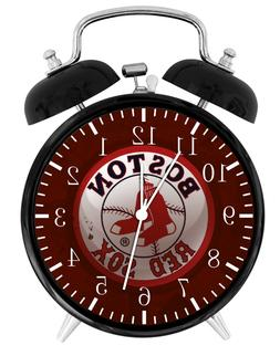 Boston Red Sox Alarm Desk Clock Nice For Decor or Gifts F141