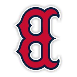 boston red sox b sticker baseball decal