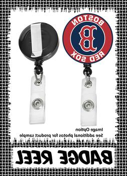 Boston Red Sox - Badge Reel - Choose From 12 Designs