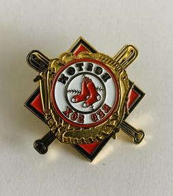 Boston Red Sox Baseball Bats And Glove Hat/Lapel Collectible