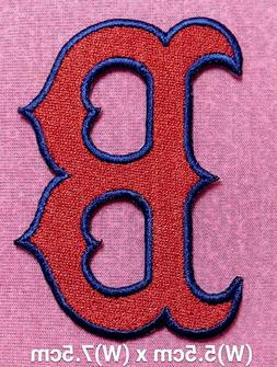 Boston Red Sox Baseball MLB Logo Patch sport Embroidery iron