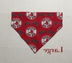 Boston Red Sox Baseball MLB Over Collar Slide On Pet Dog Cat