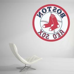 Boston Red Sox Baseball MLB Wall Decal Vinyl Decor Room Car