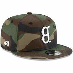 New Era Boston Red Sox Camo Basic 9FIFTY Snapback Hat