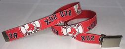 Boston Red Sox BELT & Buckle Baseball Fan Game Gear Team Pro