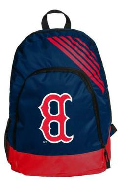 boston red sox border stripe backpack school