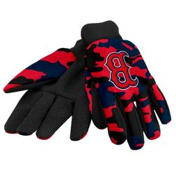 Boston Red Sox Camouflage Sports Utility Gloves Work gardeni