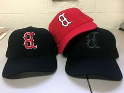 Boston Red Sox Cap Logo Hat Embroidered Men Adjustable Curve