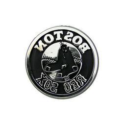 BOSTON RED SOX CAR AUTO 3-D CHROME SILVER TEAM LOGO EMBLEM M