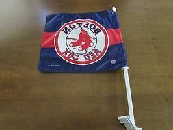Boston Red Sox Car Window Flag MLB Licensed
