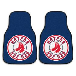 "Boston Red Sox 2-piece Carpeted Car Mats 18""x27"