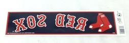 Boston Red Sox Classic Bumper Sticker Decal 10x3 Size Fenway
