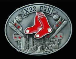 BOSTON RED SOX COMMEMORATIVE BELT BUCKLE SISKIYOU NEW!