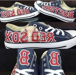 Boston Red Sox custom men and women Baseball sports  fan sho